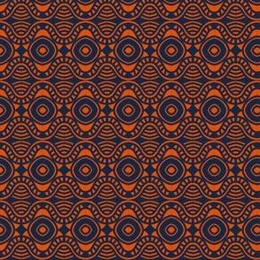 Casino Tables and Floor Orange Navy 2