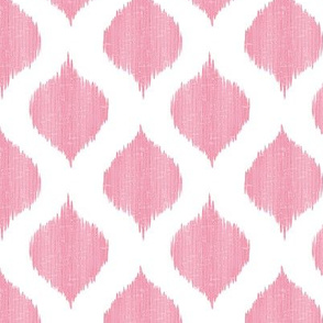 Small Scale Lela Ikat in Pink