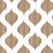 Small Scale Lela Ikat in Taupe