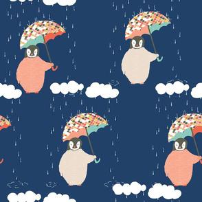 Rainy Day Penguins