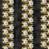 Multiple White Gold Rose Borders
