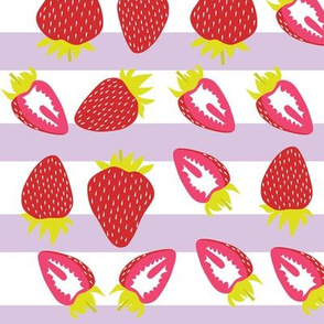 strawberries with stripes (two directional)