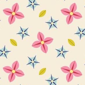 S43C bi-floral - scattered