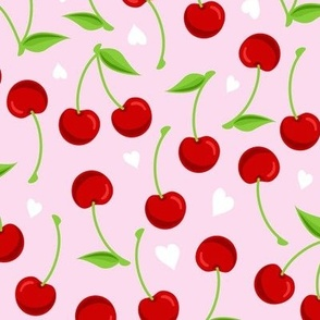 CHERRIES PINK LARGE
