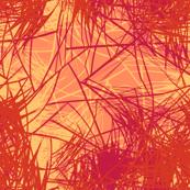 Coral magenta sketch