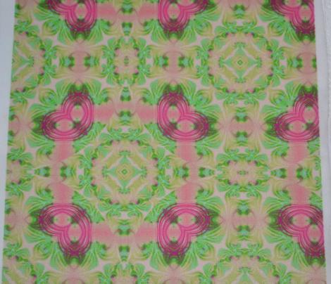 Coral and Mintgreens Swirl