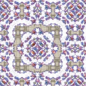 Iridescent Lacy Swirls 3