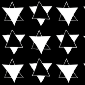 Stars Black n White