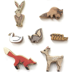 WALDORF WOOD ANIMALS