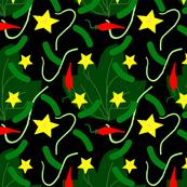 Pickles_with_leaf_on_black