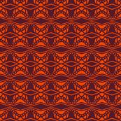 Diamond Doves Orange Brown 2