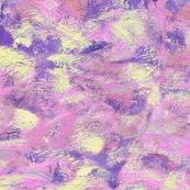 abstract paint swirls - purple and pink