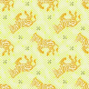 Zebra Charcoal Golden~ Paris Bebe
