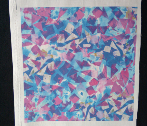 Confetti - blue and plum