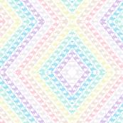 Pastel Rainbow Aztec Kangaroo