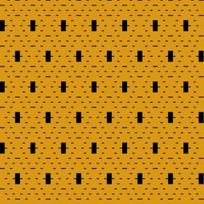 Tribal Dash (Mustard)