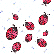 Ladybirds and Arrows