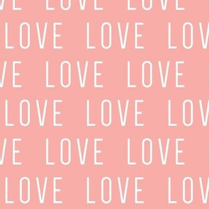 LOVE // pink