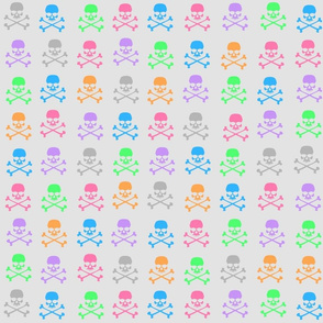 Pastel Skulls