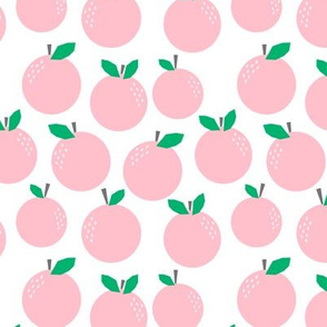 oranges pink citrus tropical pink grapefruit design