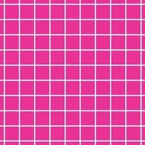 Fuschia Grid