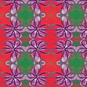 Flower power - purple