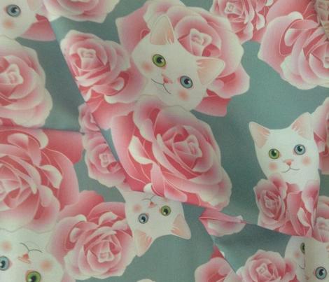 Bouquet of Kitties - Teal Flavor