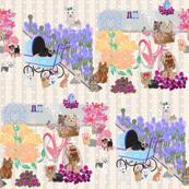 Mother's Day Garden - Yorkie, Pom, Westie, Chihuahua, Shih tzu
