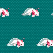 Axolotl Love