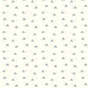 petite mountains - off-white