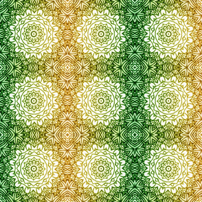 Lemon Lime Tiki Mandalas