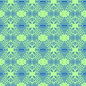 Fish Crossing Blue Celery