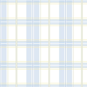 Rosemary Tartan in pale blueberry