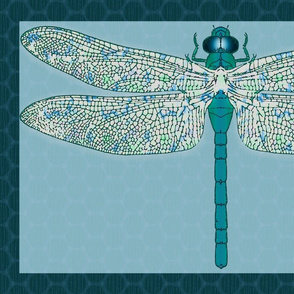 damselfly pillowcase