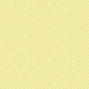Yellow Diamond Stripe
