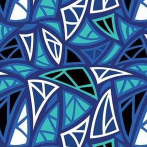Angles - Dark Blue