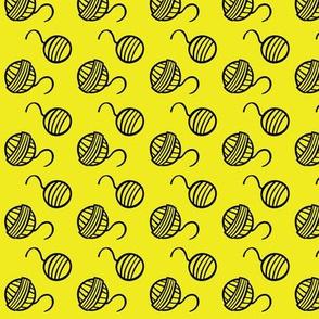 Yarn - Yellow - Warm Paws