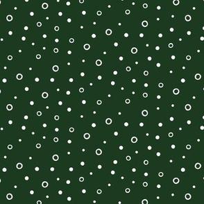Soft Hail - Dark Green - Ornamentary Coordinate