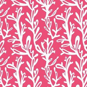 seaweed - pink - underwater pool party coordinate