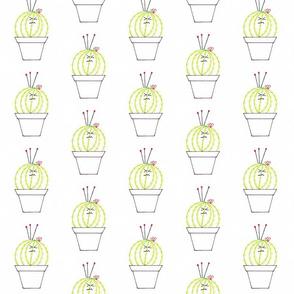 Grumpy Cactus Pin Cushion