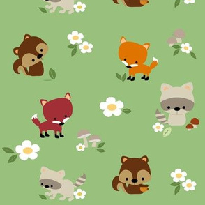 Woodland Animal Friends