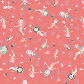 Dancing mermaids