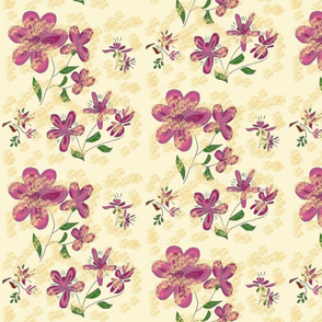 Daisy mix pattern