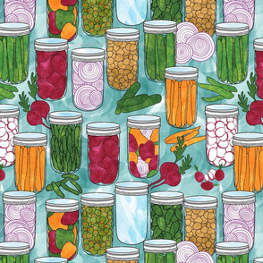 Pick a peck of pickled veggies!