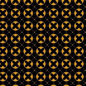 Circle X (Mustard)