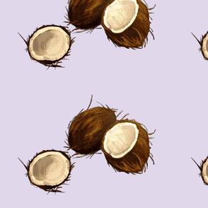 Lavender Coconuts