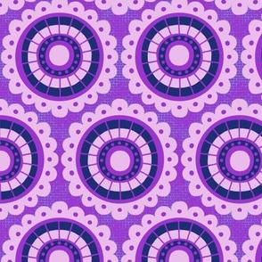 Peoria Mu - Flowerburst (Violet)
