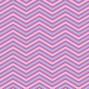 Peoria Mu - Chevron (Pink)