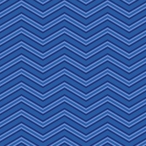 Peoria Mu - Chevron (Blues)