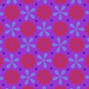 Peoria Mu - Flowers (Violet)